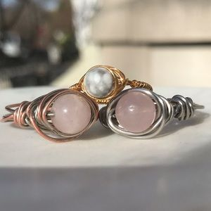 Wired wrapped rings